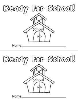 Ready For School! Emergent Reader