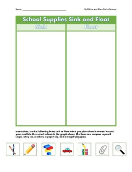 Back to School Unit  (Includes Shapes, Numbers, Sight Words)
