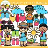 Ready For Summer Clip Art