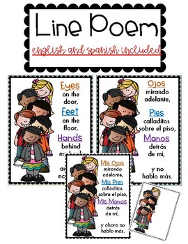 ddd470a3b6 Ready For The Hall Poem by Bilingual Printable Resources