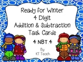 Ready For Winter 4 Digit Addition and Subtraction With Reg