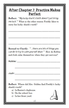 Ready, Freddy! A Little Bit Lucky (Klein) Novel Study / Comprehension (26 pages)