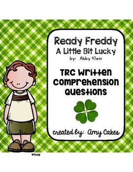 Ready Freddy A Little Bit Lucky TRC Questions