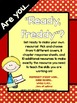 Ready Freddy:  A Reading Response Resource for ANY Ready Freddy Book!