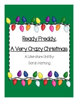 Ready Freddy! A Very Crazy Christmas Comprehension Pack