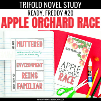 Ready, Freddy Apple Orchard Race Foldable Novel Study Unit