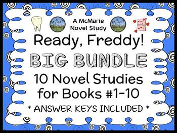 Ready, Freddy! BUNDLE (Abby Klein) 10 Novel Studies - Books #1-10
