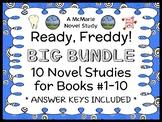 Ready, Freddy! BIG BUNDLE (Abby Klein) 10 Novel Studies : Books #1-10  (261 pgs)