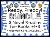 Ready, Freddy! BUNDLE (Abby Klein) 3 Novel Studies : Books #1 - 3   (71 pages)