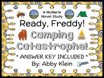 Ready, Freddy! Camping Catastrophe! (Abby Klein) Novel Study / Comprehension