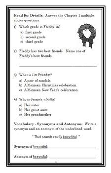 Ready, Freddy! Christmas BUNDLE (Abby Klein) 2 Novel Studies / Comprehension