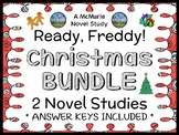 Ready, Freddy! Christmas BUNDLE (Abby Klein) 2 Novel Studies / Comprehension