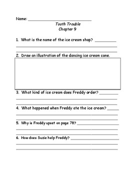 Ready Freddy! Comprehension questions books 1-10