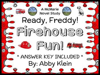 Ready, Freddy! Firehouse Fun! (Abby Klein) Novel Study / Reading Comprehension