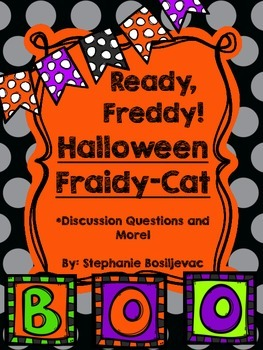 Ready Freddy Halloween Fraidy-Cat (Discussion Questions and More)