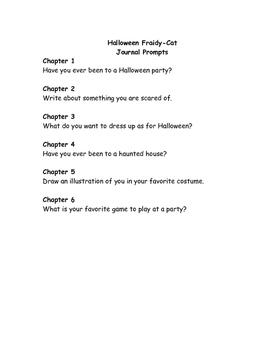 Ready Freddy! Halloween Fraidy-Cat comprehension questions