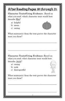 Ready, Freddy! Halloween Parade (Klein) Novel Study / Comprehension (17 pages)
