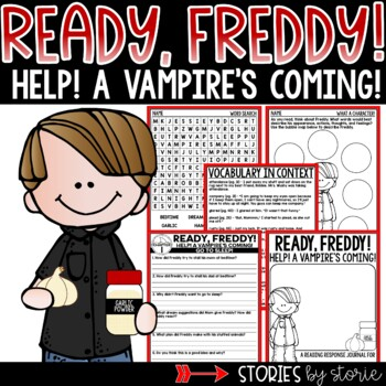 Ready, Freddy! Help! A Vampire's Coming!