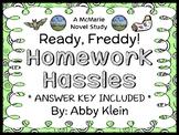 Ready, Freddy! Homework Hassles (Abby Klein) Novel Study / Comprehension