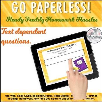 Ready Freddy Homework Hassles Novel SAMPLE Chapter 1
