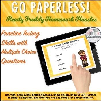 Ready Freddy Homework Hassles Novel Study