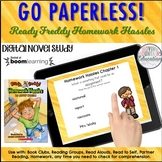 Ready Freddy Homework Hassles Novel Study