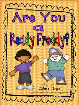 Ready Freddy Line Up Posters
