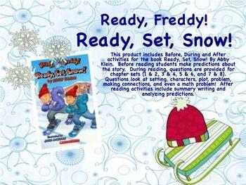 Ready Freddy! Ready, Set, Snow! Book Unit - Great for Olympics!