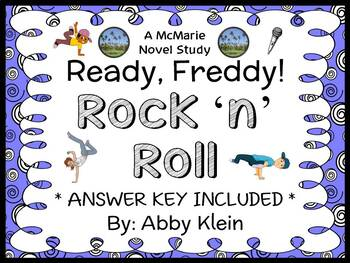 Ready, Freddy! Rock 'n' Roll (Abby Klein) Novel Study / Comprehension (25 pages)