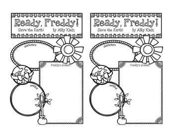 Ready, Freddy! Save the Earth! by Abby Klein Literacy Packet