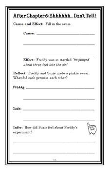 Ready, Freddy! Science Fair Flop (Abby Klein) Novel Study / Comprehension