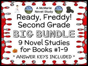 Ready, Freddy! Second Grade BIG BUNDLE (Abby Klein) 9 Novel Studies : Books #1-9