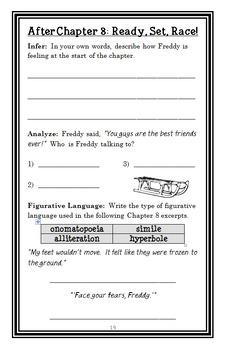 Ready, Freddy! Second Grade BUNDLE (Abby Klein) 3 Novel Studies : Books #1-3