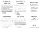 Ready, Freddy Second Grade Rules Book Study