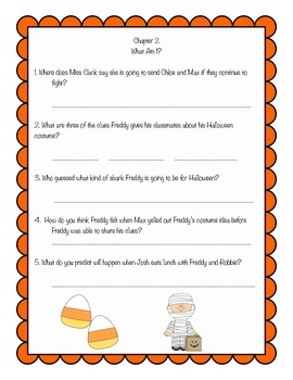Ready, Freddy! Second Grade Rules Novel Study