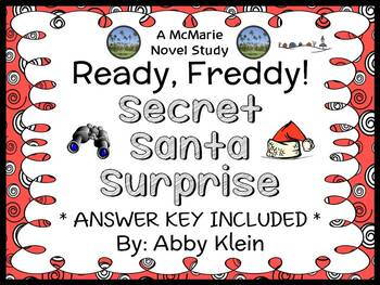Ready, Freddy! Secret Santa Surprise (Abby Klein) Novel Study / Comprehension