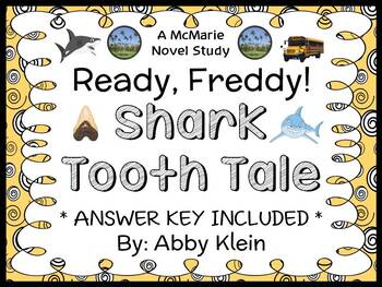 Ready, Freddy! Shark Tooth Tale (Abby Klein) Novel Study / Reading Comprehension
