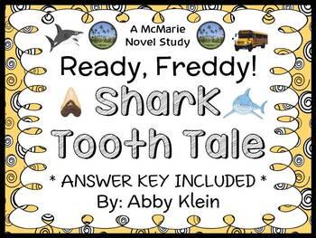 Ready, Freddy! Shark Tooth Tale (Abby Klein) Novel Study / Reading Comprehension