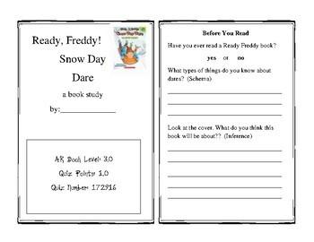 Ready Freddy! Snow Day Dare Book Study