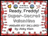 Ready, Freddy! Super-Secret Valentine (Abby Klein) Novel Study / Comprehension