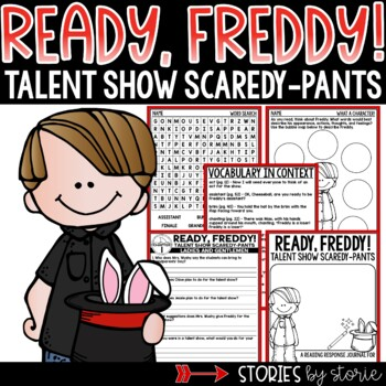 Ready, Freddy! Talent Show Scaredy-Pants