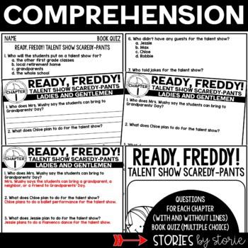 Ready, Freddy! Talent Show Scaredy-Pants