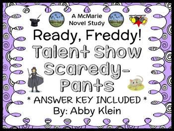Ready, Freddy! Talent Show Scaredy-Pants (Klein) Novel Stu