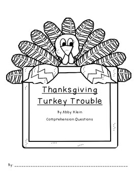 Ready, Freddy: Thanksgiving Turkey Trouble Comprehension Questions