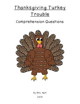 Ready, Freddy: Thanksgiving Turkey Trouble Comprehension Q