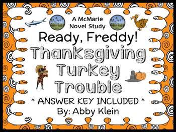 Ready, Freddy! Thanksgiving Turkey Trouble (Klein) Novel S