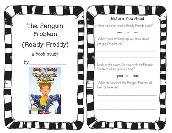 Ready, Freddy The Penguin Problem Book Study