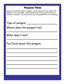 Ready Freddy!  The Penguin Problem Comprehension Pack