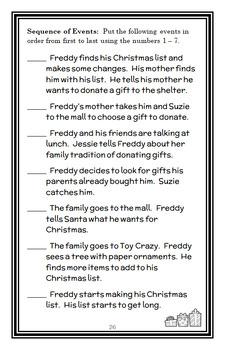 Ready, Freddy! The Perfect Present (Abby Klein) Novel Study / Comprehension