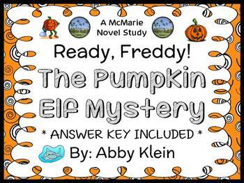 Ready, Freddy! The Pumpkin Elf Mystery (Abby Klein) Novel Study / Comprehension
